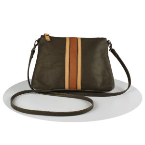 mireille-daelman-handmade-leather-bags-retro-stripes-kate-olijfgroen-oker-2